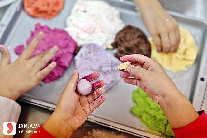 Cách làm bánh trôi nước ngũ sắc 2