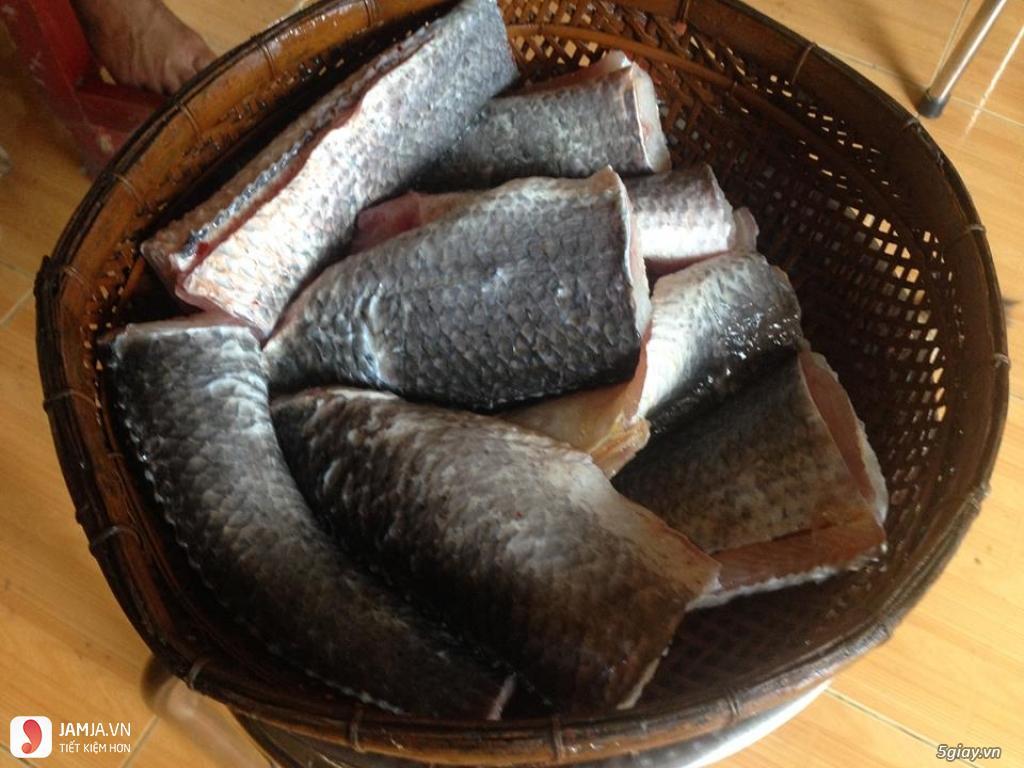 Cách làm chà bông cá lóc 2