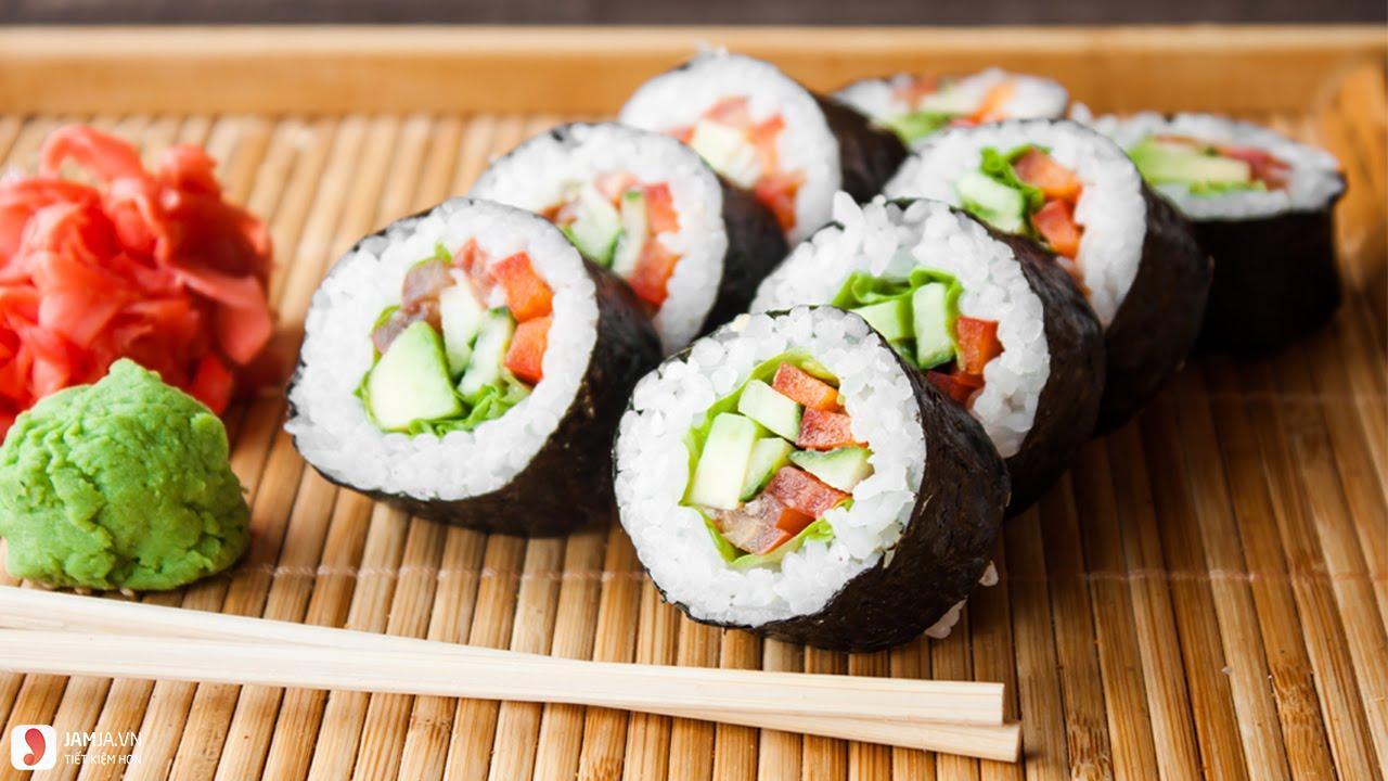 Cách làm sushi Hàn Quốc 2