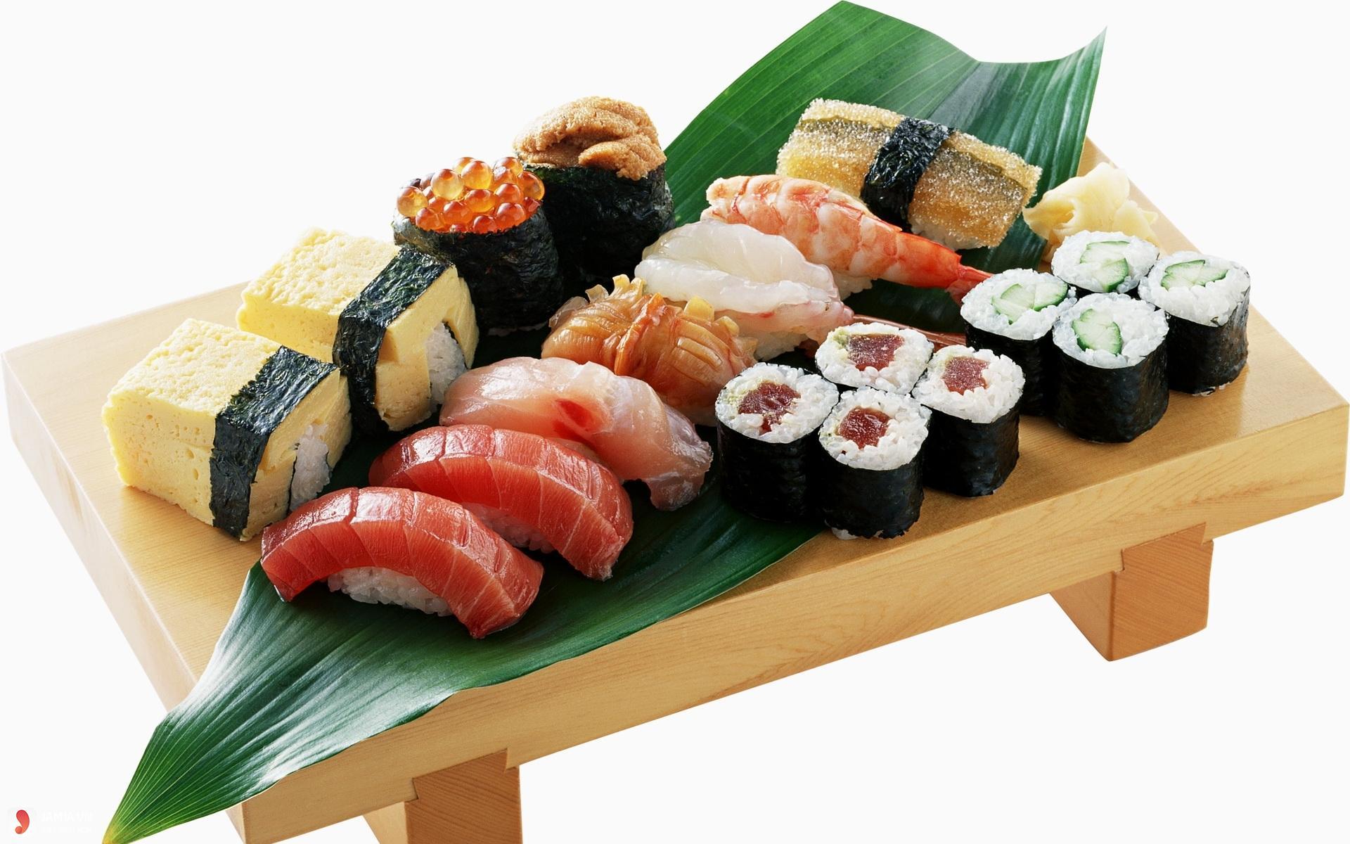 cách làm bánh sushi 2