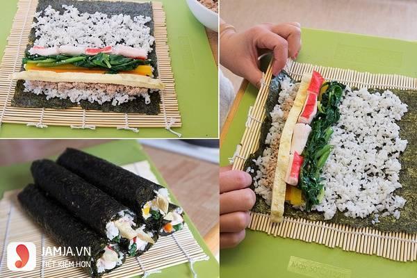 Cách làm sushi kiểu Việt Nam 2