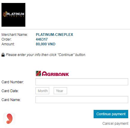 Cách mua vé online tạiPlatinum The Garden - 7