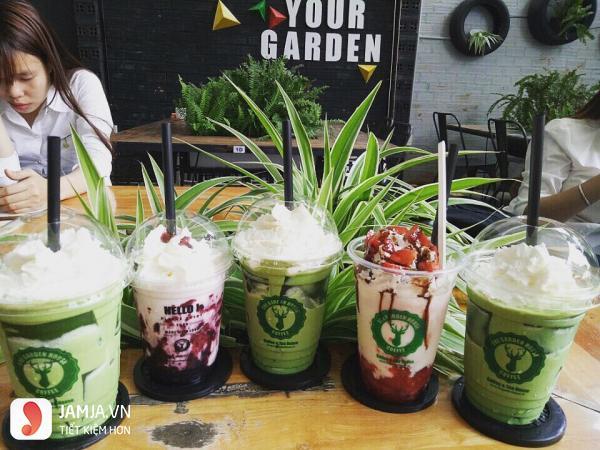 Cafe vườn ươm The Garden House Coffe 3