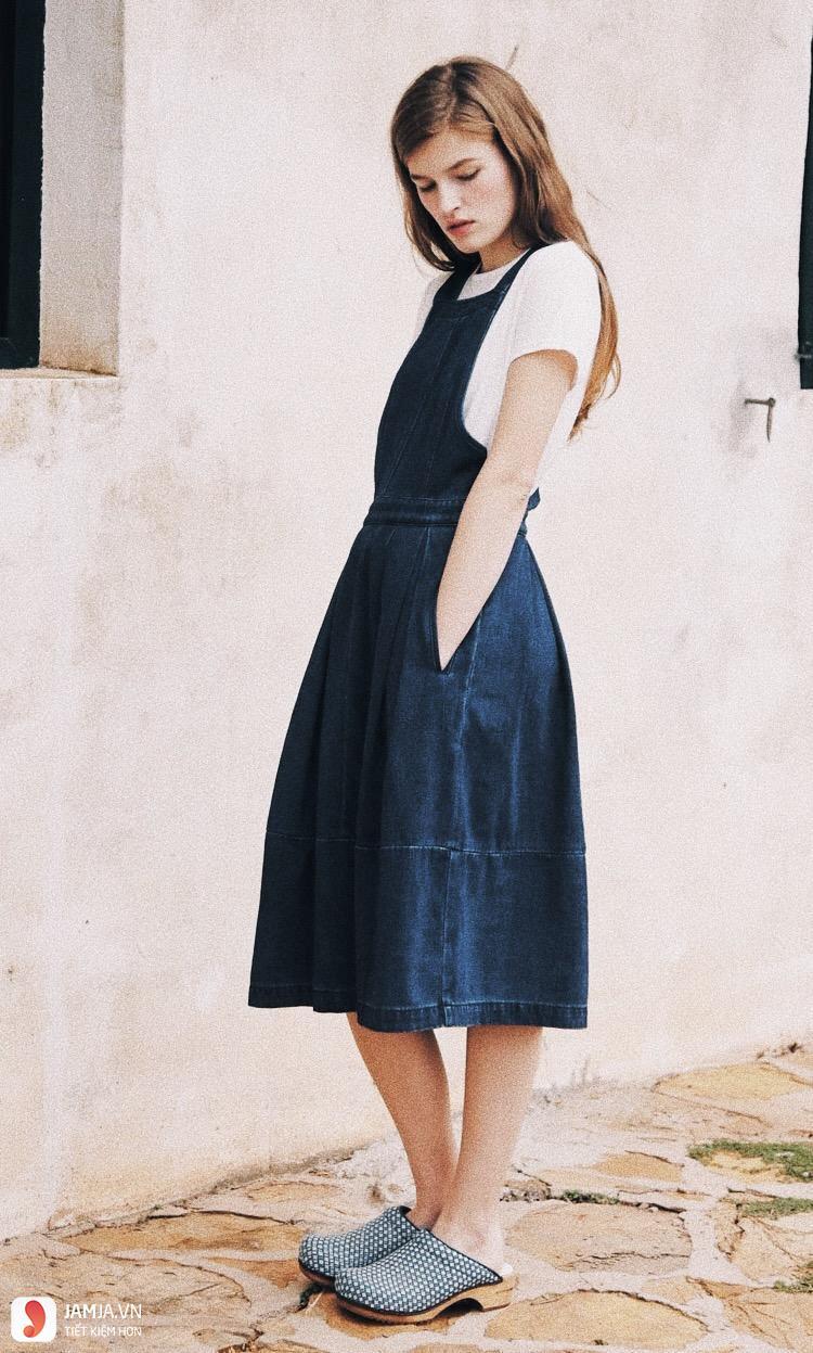 Chân váy jean 3