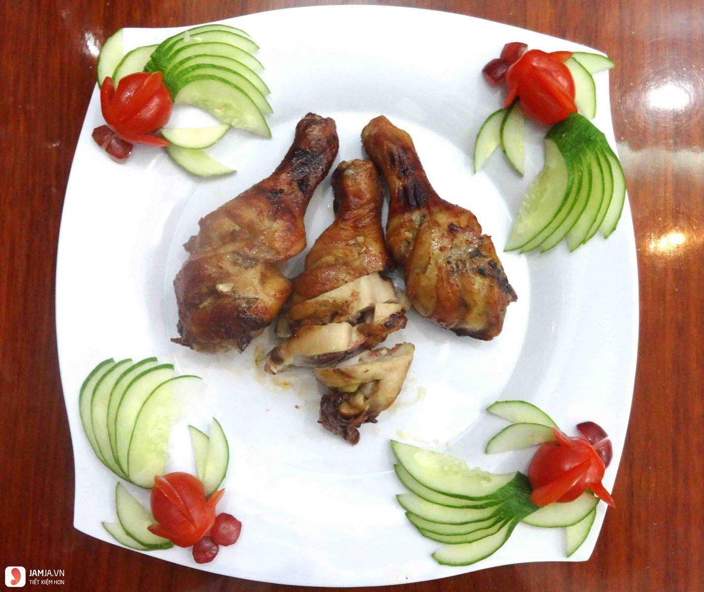 Đùi gà rút xương nướng ngũ vị hương 2