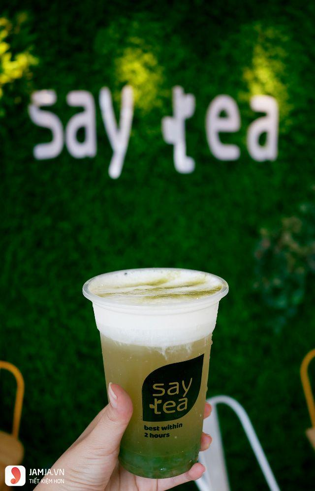 Hồng trà sữa kem cheese Saytea