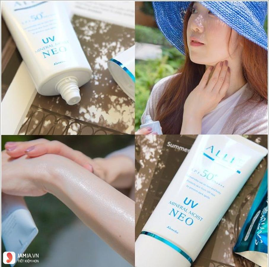 Kem chống nắng Kanebo Allie Extra UV Gel Protector 5