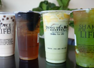menu dingtea