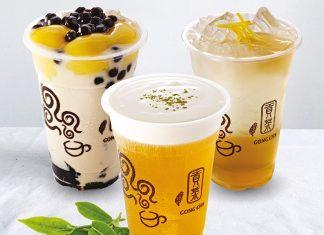 Menu Gong Cha