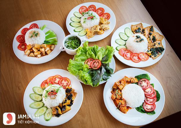 Nhà hàng chay Bông Súng 1