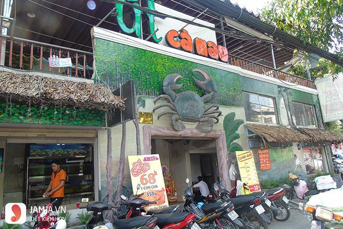Nhà hàng Út Cà Mau.