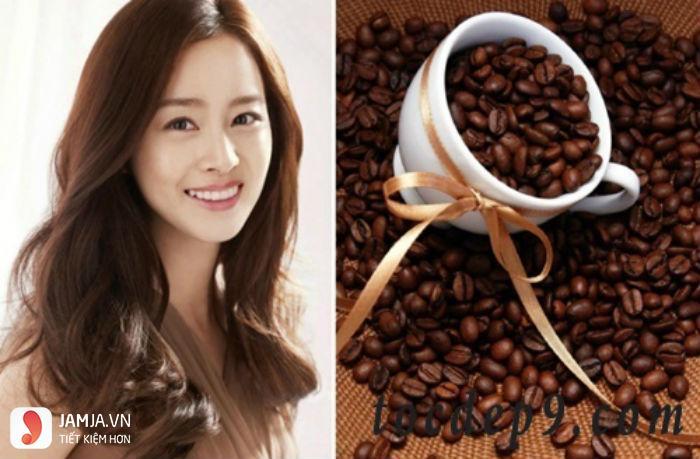 Nhuộm tóc màu cà phê