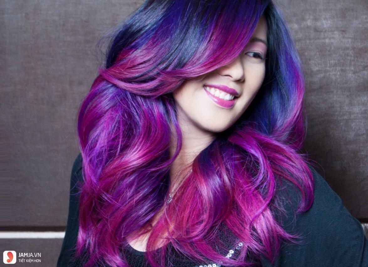 Nhuộm tóc màu ombre