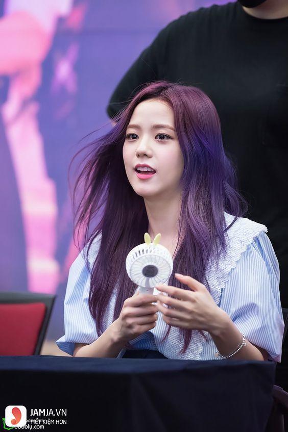 Nhuộm tóc màu tím đen có nhanh phai màu không 1