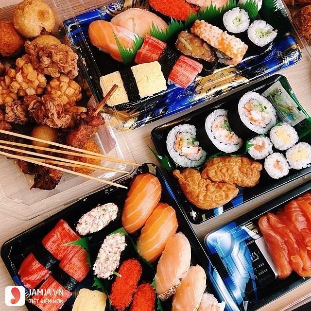 Quán Sushi tại Aeon mall.