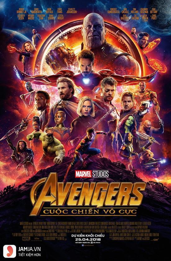 Review Avengers: Cuộc chiến vô cực - 1