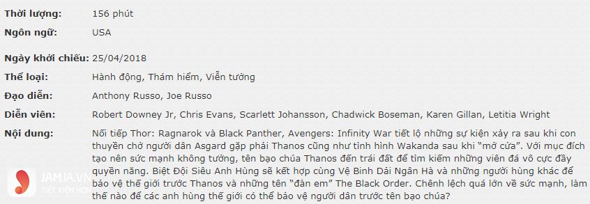 Review Avengers: Cuộc chiến vô cực - 3