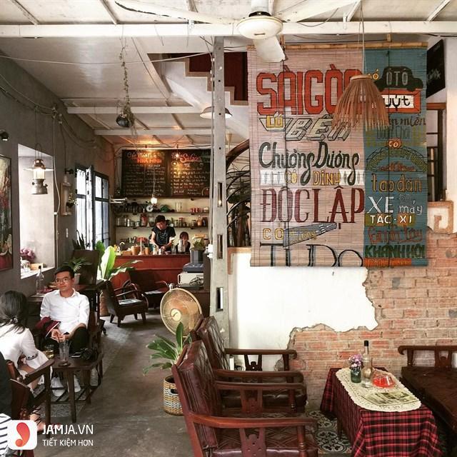 Quán cà phê Sài Gòn 80s 1