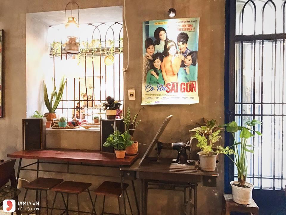 Quán cà phê Sài Gòn 80s 3