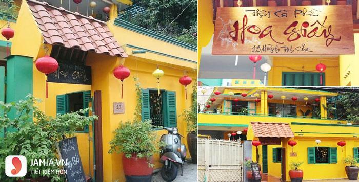 Tiệm Cà Phê Hoa Giấy 2