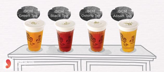 Trà sữa trà đen Gong Cha
