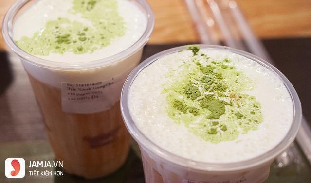 Trà sữa trà xanh Gong Cha