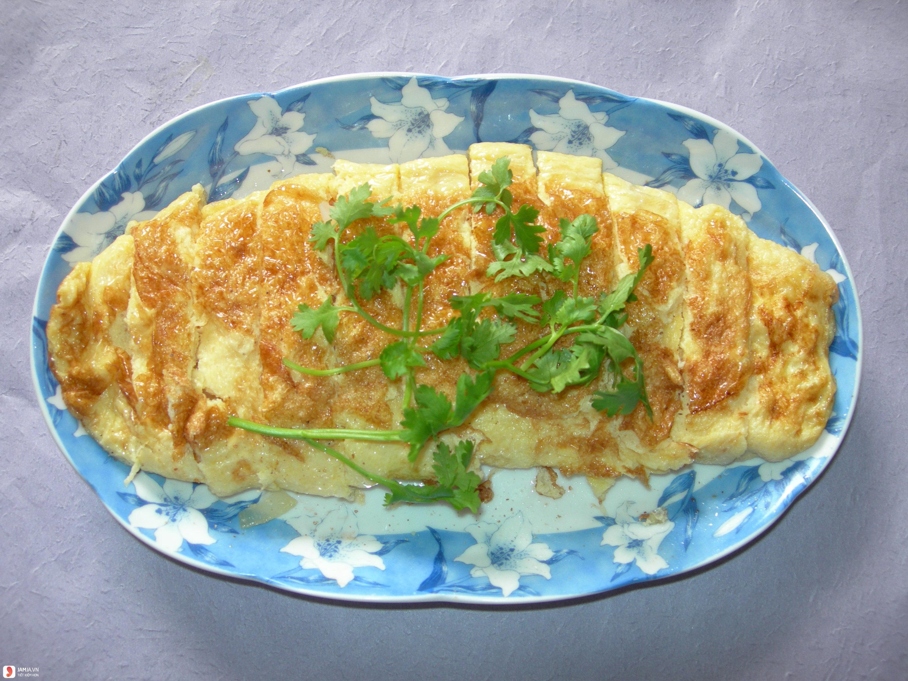 Trứng chiên hành tây