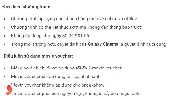 Ưu đãi Galaxy Cinema Bến Tre - 2