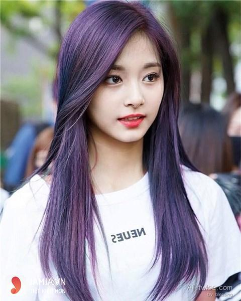 Vì sao nên nhuộm tóc màu tím đen 3