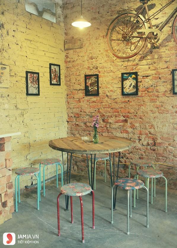 không gian Area 21 Cafe