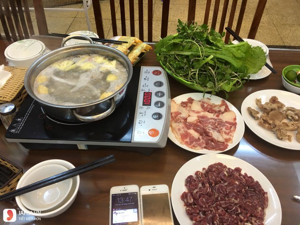 Bò Ngon 555 đồ ăn