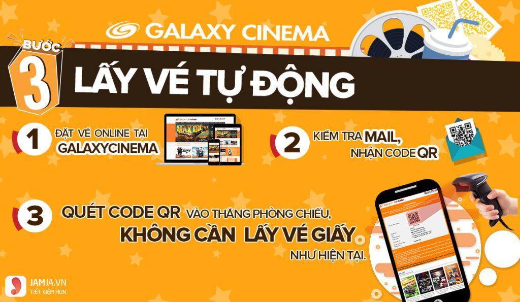 Cách đặt vé xem phim Galaxy Quang Trung