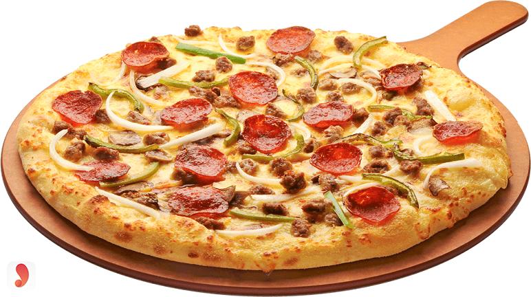 cách làm pizza xúc xích bằng chảo chống dính 2