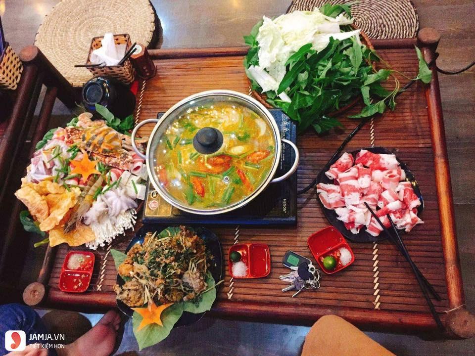 Lẩu Xuân Gà menu