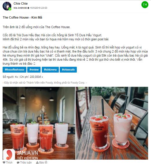Nhận xét về món mới của The Coffee House - 1
