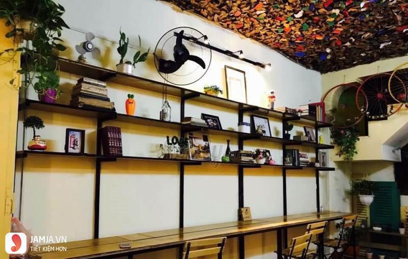 không gian Secret Garden Cafe