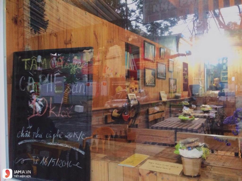 Không gian Tâm Cà Cafe - Cà Phê Ổ Nắng