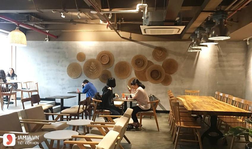 không gian The Coffee House hải phòng