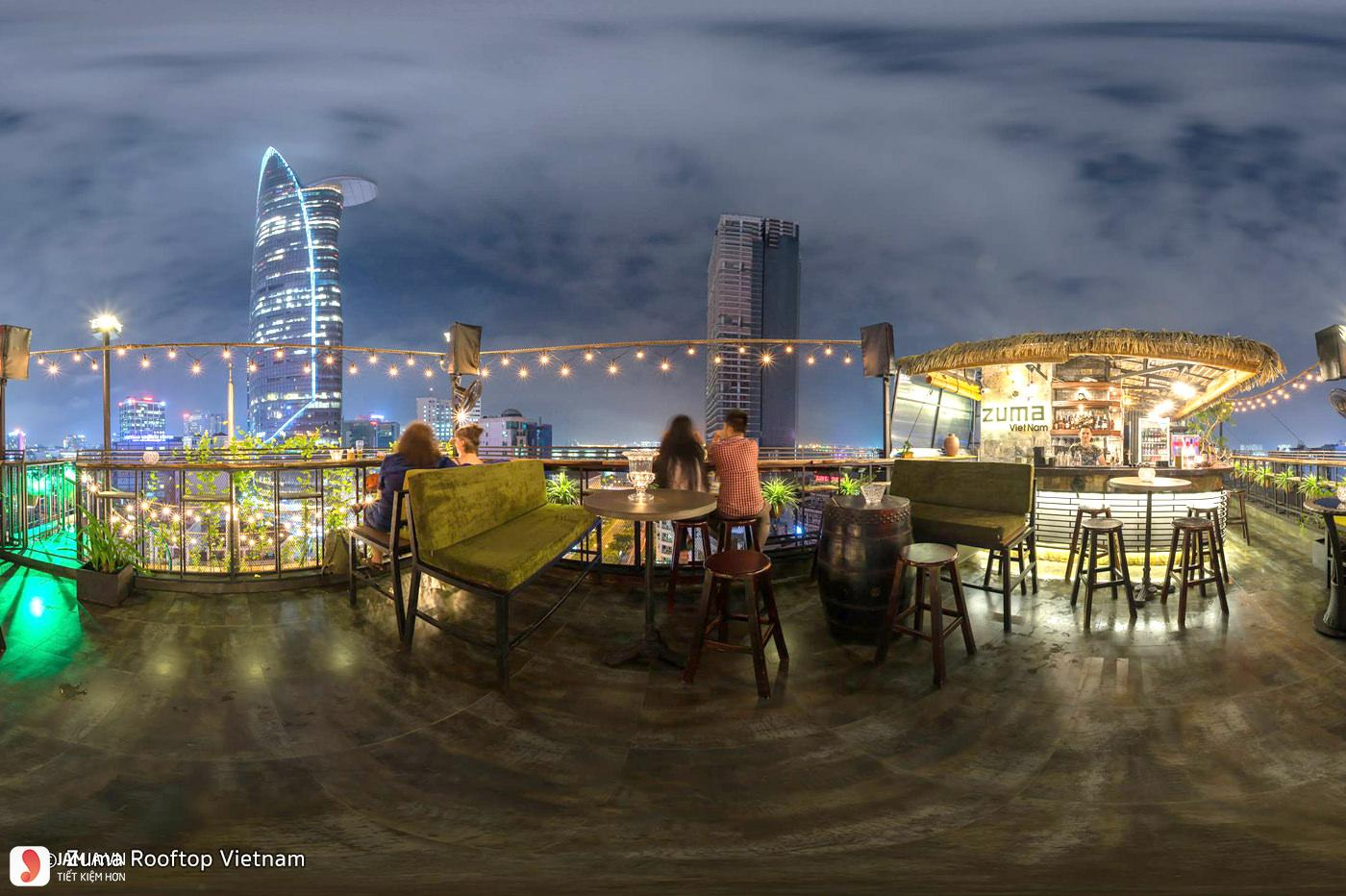 Zuma Rooftop Bar 2