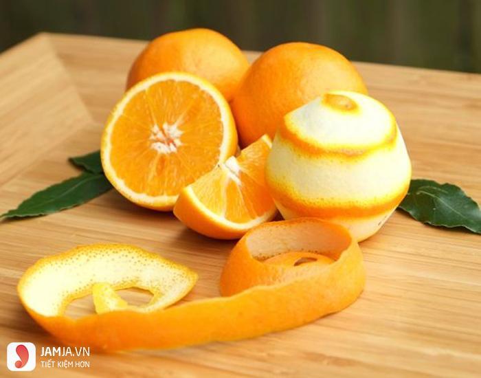 cách làm cam sấy khô bằng lò vi sóng 1