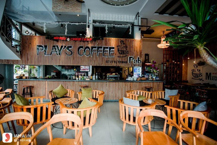 Cách trang trí quán cafe trong nhà 2