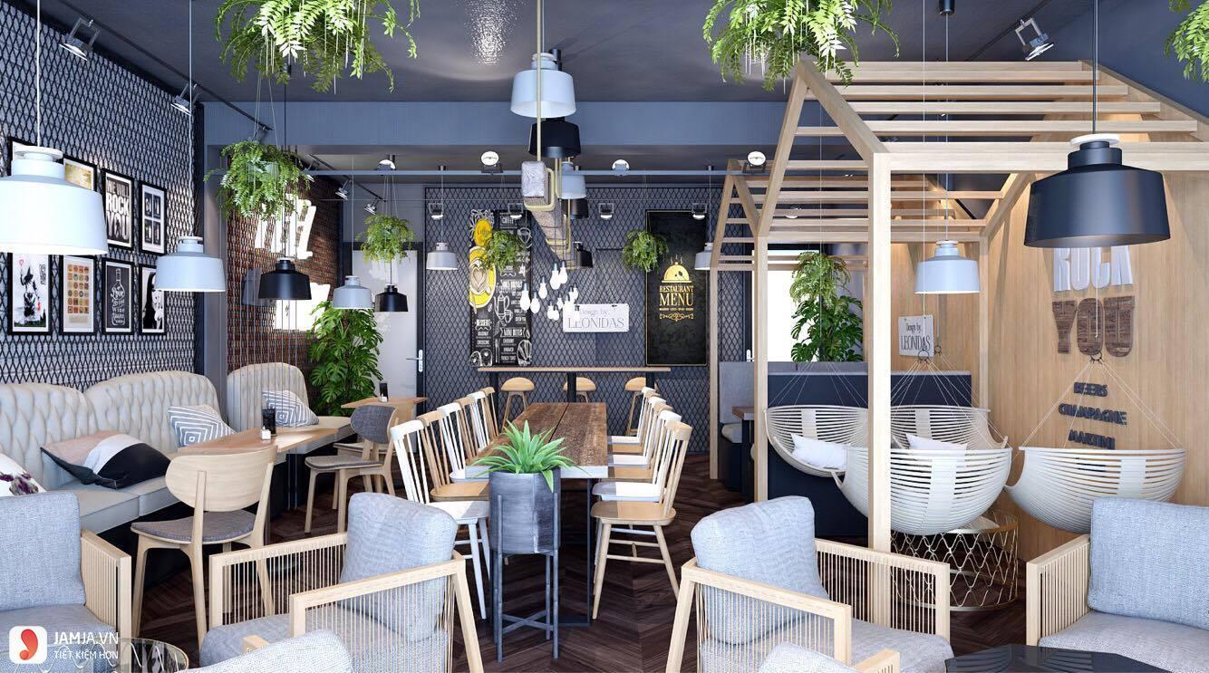 Cách trang trí quán cafe trong nhà 7