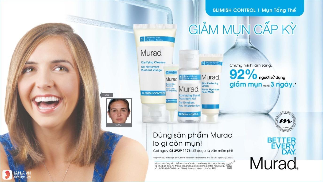Đôi nét về thương hiệu Murad 3