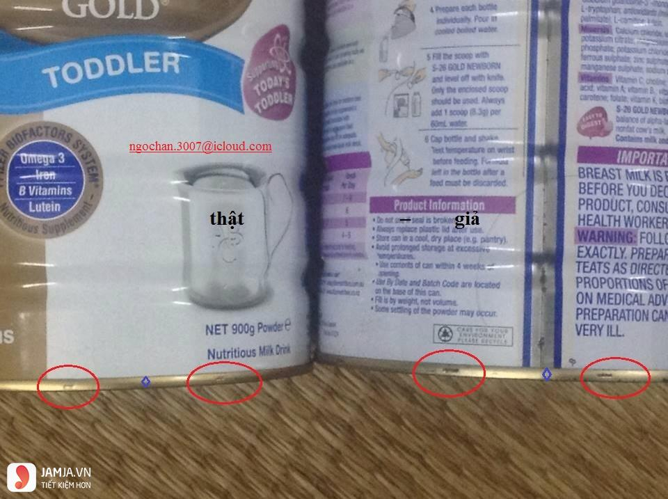 Góc lưu ý cho mẹ khi sử dụng sản phẩm sữa S26