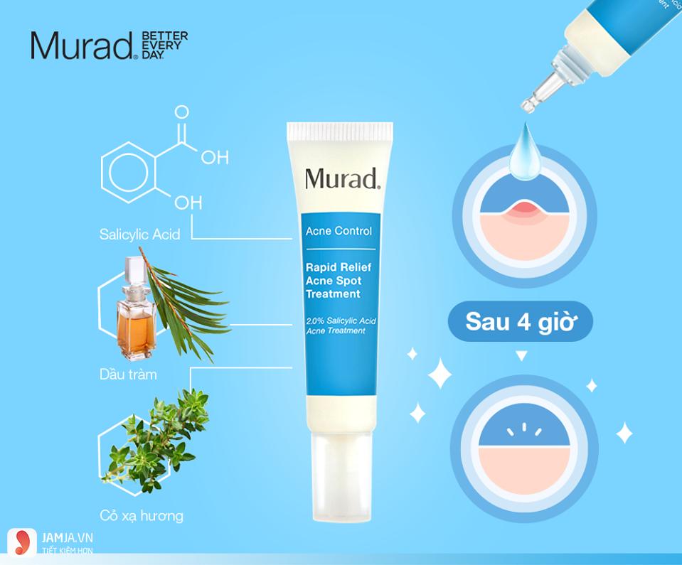 Kem trị mụn Murad Rapid Relief Acne Spot Treatment 4