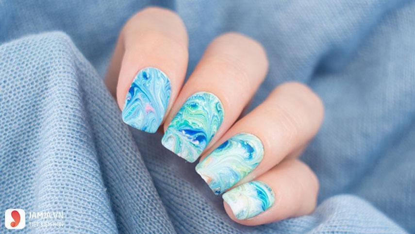 Mẫu nail đẹp đi biển - 4