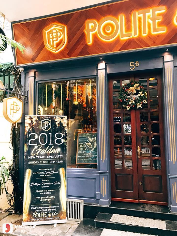 quán bar Polite & Co 1