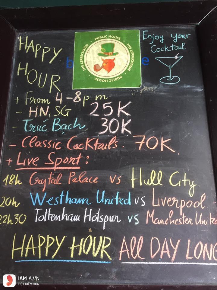 quán bar The Leprechaun 3