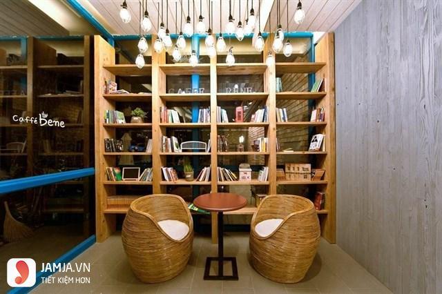 Quán cafe sách yên tĩnh ở Sài Gòn 1