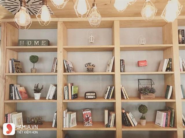 Quán cafe sách yên tĩnh ở Sài Gòn 2